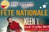 13 et 14 juillet : Fête Nationale